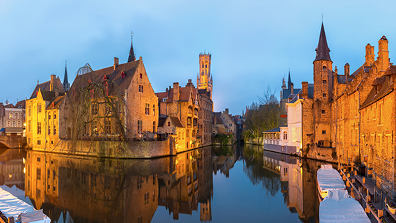 Western Europe and Americas, Bruges, Belgium